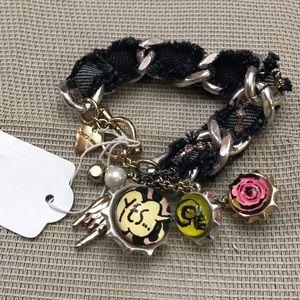 Betsey Johnson punk bracelet